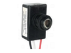 Photocell 120V to 277V for outdoor light fixtures LED Compatible Day Night Sensor. 1/2 npt. wall mount