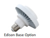 30 Watt Round Type B LED PL light Bulb 140 degree Beam Angle 4000K, 42W CFL Replacement  3000 Lumens