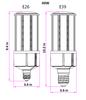 IC40-IP64 40W LED Corn Light SN-C-CLW-40WA1 LED Replacement 360 Degree Beam Angle, E26 / E39 Base UL 3000K - 6000K
