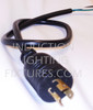 3 Foot Twist Lock 120 Volt Power Cord