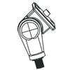 FLST61 Adjustable Knuckle for Small Round Back Flood Fixture