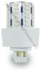3 Watt LED PL light Bulb Cornlight with 360 degree Beam Angle 4000K, 9w CFL Replacement