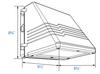 LWPC25-5K 25 Watt LED LWPC Outdoor Surface Mount Wallpack Light Fixture DLC Certified, Dark Skies Compliant
