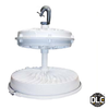 169 Watt LHB4 Series LED High Bay Fixture with 16 inch Lens and Array. DLC Certified. 400 Watt Metal Halide Replacement