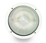 IW1C Round Deco Induction Wall Pack Outdoor Lights