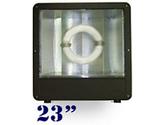 """FSW 23"""" Wide Angle Induction Shoebox Light"""