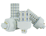 ICF Series LED PL Bulbs, GX24Q Base - Direct Wire