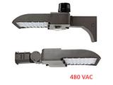 480 Volt LED Shoebox Area Light - 30w to 300w