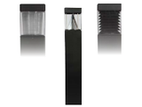 Square Post Bollard Lighting - Flat Top - LED