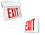 LED Illuminated & Edgelit Exit Signs