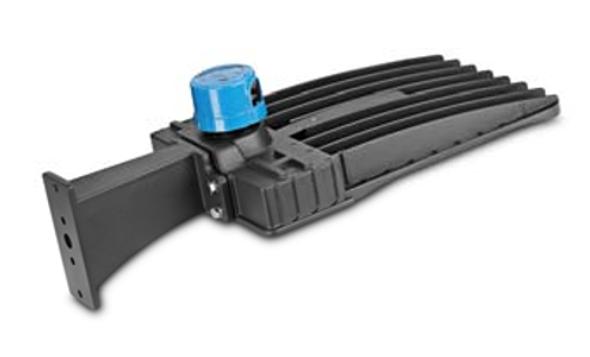 LKHD60-5K-S 60 Watt LED Area Light Fixture with slipfitter mount, Deco Style Parking Lot Light Fixture 250 Watt MH Replacement