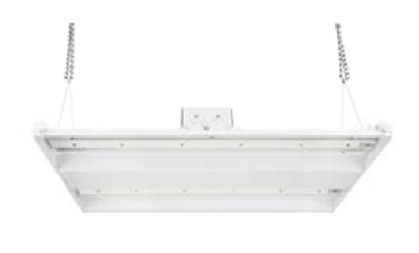 ILLHB2100-5K 100 Watt 10 Year LED Linear High Bay Light Fixture Fluorescent Replacement. 2x2 Ft
