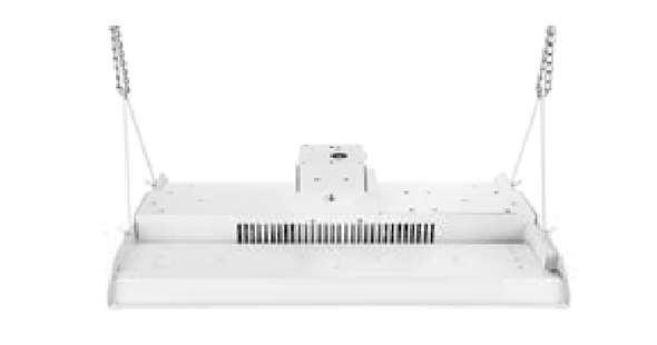 100 Watt 10 Year LED Linear High Bay Light Fixture ILLHB Series Fluorescent Replacement. 2x2 Ft