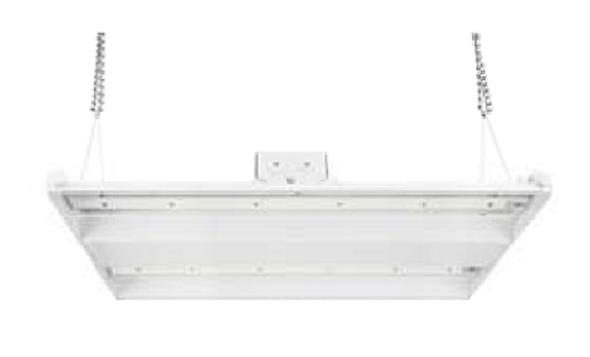 ILLHB4200-5K 200 Watt 10 Year LED Linear High Bay Light FixtureFluorescent Replacement 2x4 Ft.