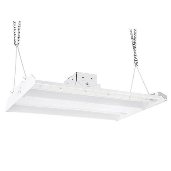 ILLHB4300-5K 300 Watt 10 Year LED Linear High Bay Light Fixture Fluorescent Replacement 2x4 Ft