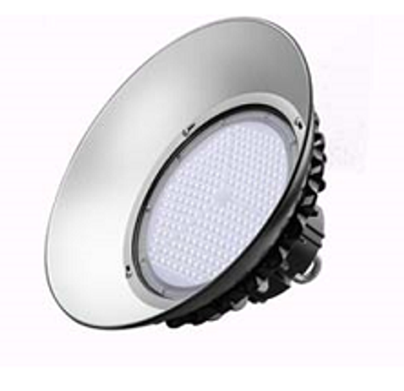 LUHB100-5K 100 Watt LED High Bay light \ Low Bay Light Fixture Low Profile UFO Style
