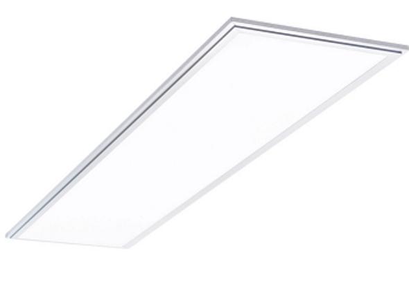 LED Slim Line Panel Light Fixture 1x4 ft. 45 watt 3000k DLC Certified