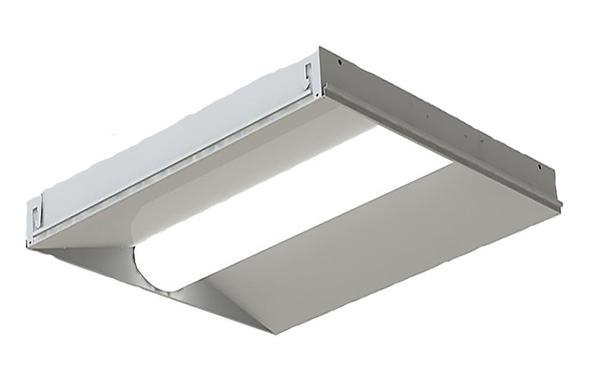 ILUX Series LED Troffer Light Fixture 2x2 ft. 40 watt 3500k DLC Certified Grid Ceiling Light
