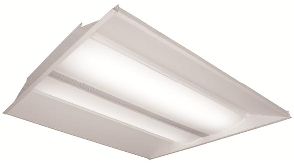 ILELL Series LED Recessed Light Fixture 2x4 ft. 70 watt 3000k DLC Certified Office Light