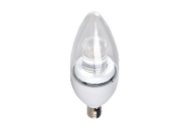 5W Candelabra Bulb Warm White 5 Watt 2700k Color Case Quantities 50/case Energy Star