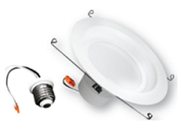 "ILRC-13W-6-3K 13W Recessed Light Trim 13 Watt, 3000K Color, 5"" to 6"" Recessed Lighting, Case Quantities 12/case Energy Star"