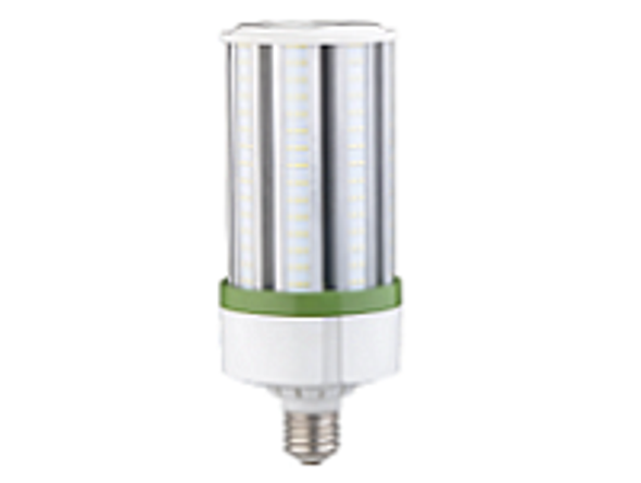 480 VAC LED Corn Light IP64 80 Watt | 320 Watt Metal Halide Equivalent 360 Degree Beam Angle, Mogul (E39) Base UL Listed 5000K