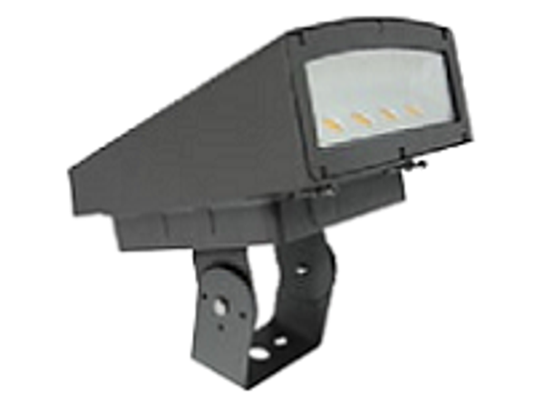 LFLS80BR 80 Watt LED Outdoor Flood Light, Area Light Fixture, with Adjustable Bracket DLC