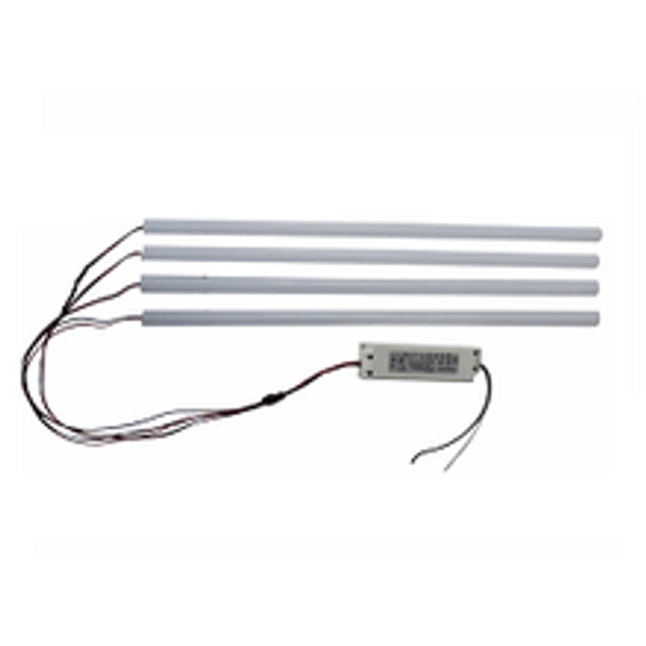 """ILTR-5K-4850FR-4 Fluorescent Light to LED Retrofit Kit for 4x4 or 2x8 Troffer and Grid Lights, 48"""" DLC Certified 6000 Lm Frosted Lens"""