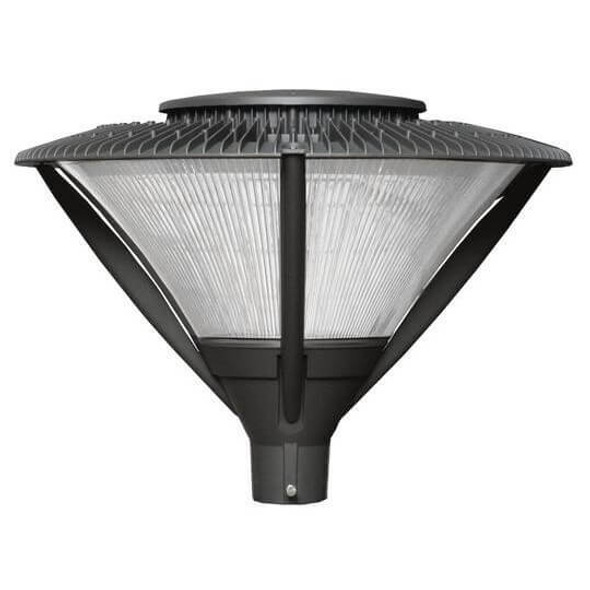 ILPF81-84-4K LED Post Mounted / Pole Top Light Fixture 84 Watt Architectural Style with Acrylic Lens