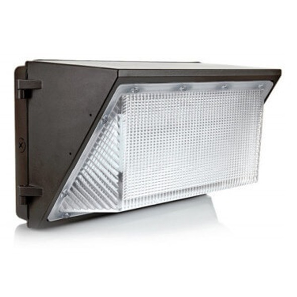 LWP60-5K 60 Watt LWP Series Classic Style LED Wall Pack Outside Light Fixture. DLC Certified