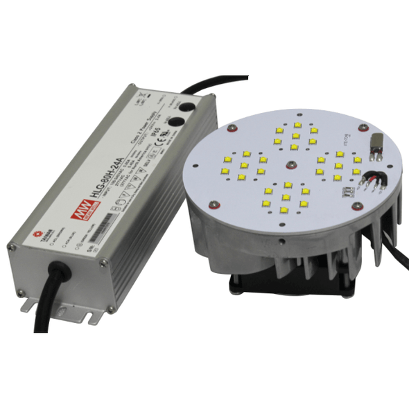 IRK65R-5K 65 Watt LED Retrofit Module with Mounting Bracket 5000K Color Temp. 7150 Lumens HID Replacement