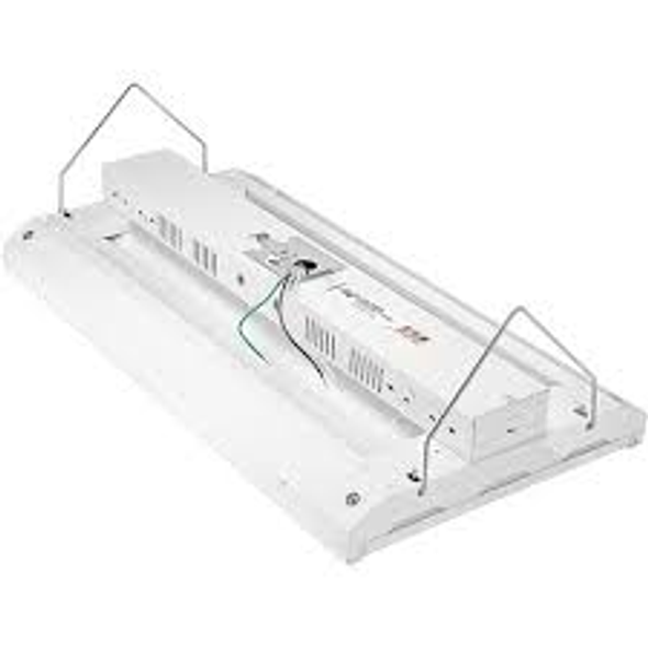 57,000 Lumen LED Linear High Bay 10 year Warranty, LED Light Fixture ILECOHB Series 425 Watt 2x4 Ft DLC