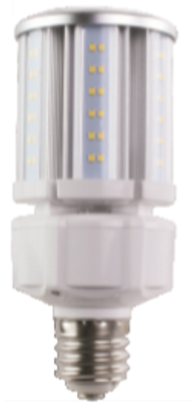 Compact LED Corn Light Bulb,20 Watt EX39 Base ETL DLC Listed 5000K, 2600 lumens