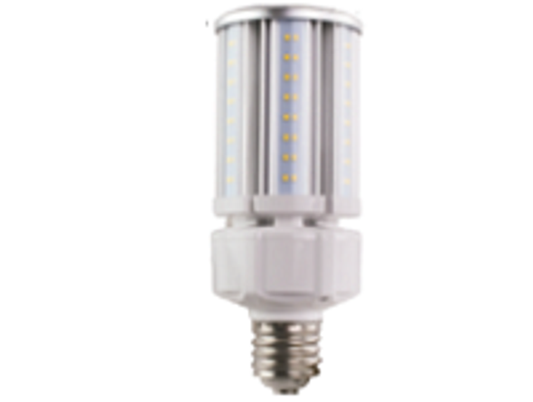 ICEX3930-5K Narrow LED Corn Light Bulb, 30 Watt EX39 Base ETL DLC Listed 5000K, 3900 lumens, Fanless ip65 Design