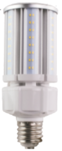 Narrow LED Corn Light Bulb,30 Watt EX39 Base ETL DLC Listed 5000K, 3900 lumens, Fanless ip65 Design