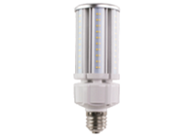 ICEX3940-5K Slim LED Corn Light Bulb, 40 Watt EX39 Base ETL DLC Listed 5000K, 5200 lumens Fanless Heatsink Design