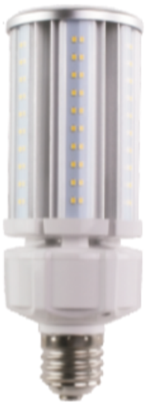 Slim LED Corn Light Bulb,40 Watt EX39 Base ETL DLC Listed 5000K, 5200 lumens Fanless Heatsink Design