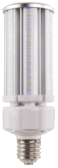 Skinny LED Corn Light Bulb,50 Watt EX39 Base ETL DLC Listed 5000K, 6500 lumens Fanless Heatsink Design