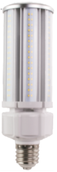 Small Diameter LED Corn Light Bulb,60 Watt EX39 Base ETL DLC Listed 5000K, 7800 lumens Fanless Design