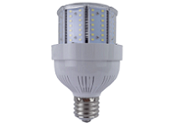 Stubby 85 Watt LED Metal Halide Replacement, Compact Design 11,900 Lumen Output (E39/40) Base ETL Listed 5000K DLC
