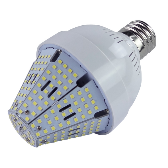 60 Watt Post Top Mounted LED Bulb, HID Replacement Lamps - 5000K