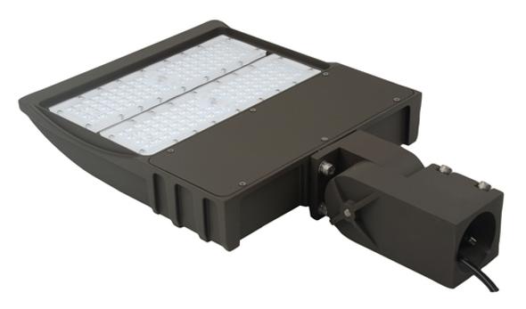 LKHM150-3K-S 150 Watt, 19000 Lumens LED Area Light Fixture with slipfitter mount 3000K CT, Car Lot Light Fixture 600 Watt HPS Equivalent