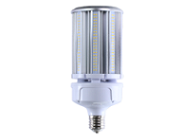 ICEX39100-5K IP65 Rated LED Corn Light Bulb, 100 Watt EX39 Base ETL DLC Listed 5000K, 13000 lumens Fanless Design