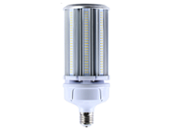 ICEX39120-5K IP65 Rated LED Corn Light Bulb, 120 Watt EX39 Base ETL DLC Listed 5000K, 15600 lumens Fanless Design