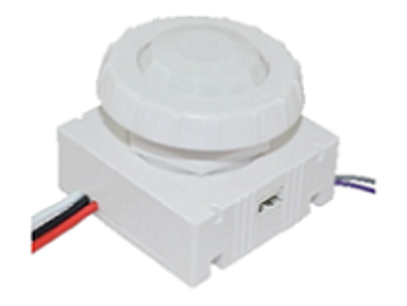 Motion Sensor 120V to 277V for light fixtures LED Compatible PIR Sensor. 1/2 npt. Programmable