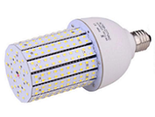 Triac Dimmable 30 Watt Corn Cob LED for 120 Volt Circuits, 360 Degree Beam Angle Mogul / medium Base 5K Color Temp