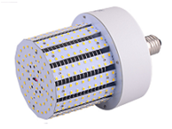 Triac Dimmable 40 Watt Corn Cob LED for 120 Volt Circuits, 360 Degree Beam Angle Mogul / medium Base 5K Color Temp