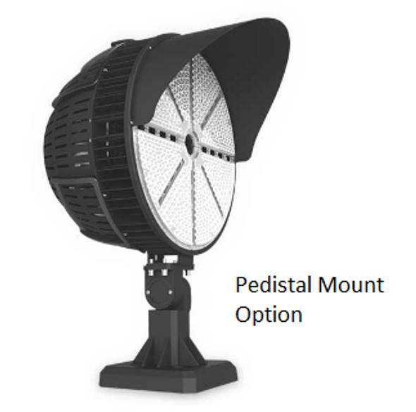 LSLR400-5K-HV 400 Watt LED Sports Light for Atheltic fields and sports arenas. High Power LED Array UL DLC