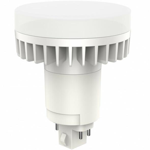 ICFV12-4K 12 Watt Round Type AB LED PL light Bulb 140 degree Beam Angle 4000K, 32w Ballast Compatible CFL Replacement 1100 Lumens