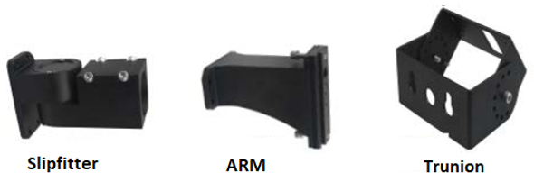 IL-MAL04-45-5K-A 480V 45 Watt LED Area Light Fixture with Arm Mount, 5000K Color Temp, Light Fixture, 250 Watt MH Equivalent